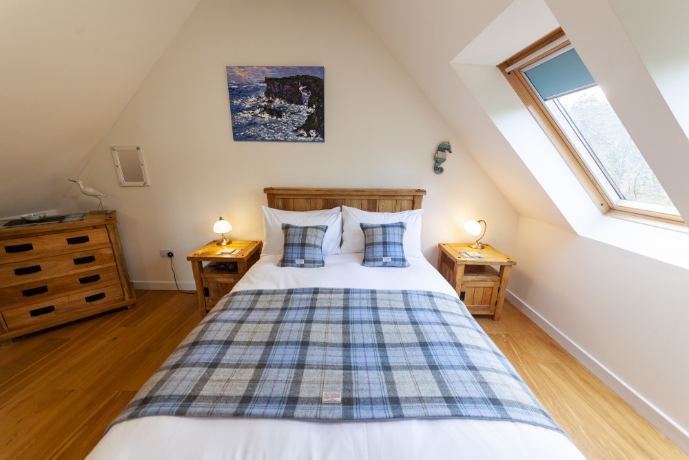 double bedroom eshaness arisaig