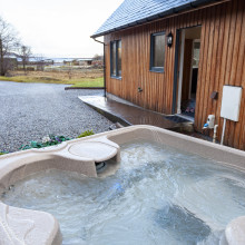 hot tub eshaness arisaig