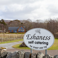 sign eshaness arisaig