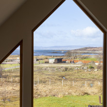 view balcony eshaness arisaig